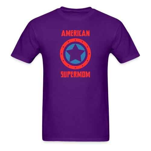 American Supermom - Men's T-Shirt