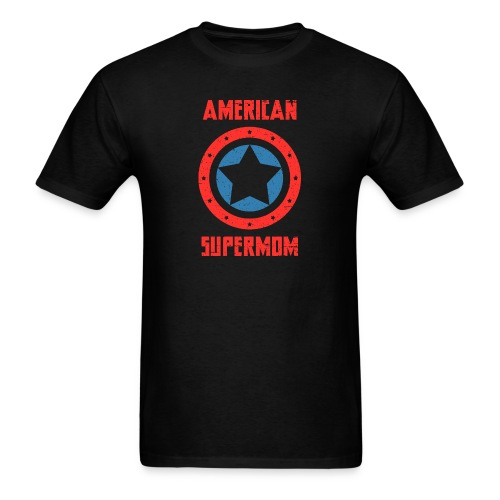 American Supermom - Men's T-Shirt