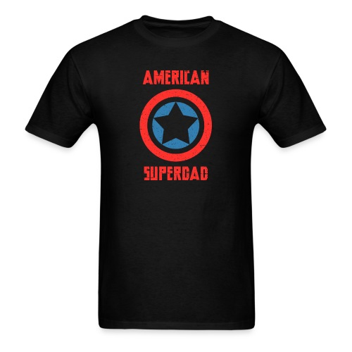 American Superdad - Men's T-Shirt