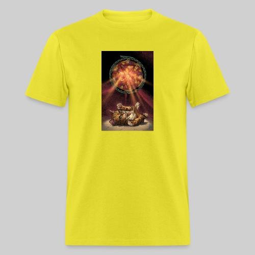 Playful Satanic Kitten - Men's T-Shirt