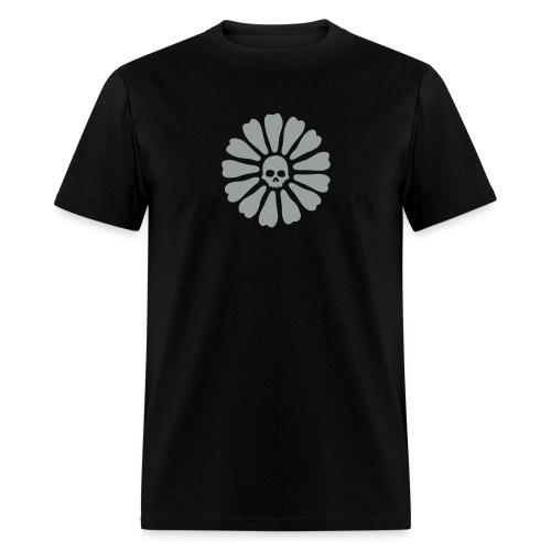 skull flower - Men's T-Shirt