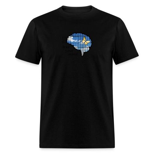 free your mind - Men's T-Shirt