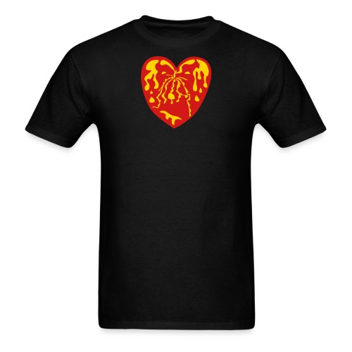 fountain of youth heart - Men's T-Shirt
