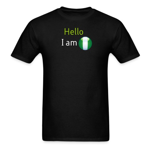 nigerian - Men's T-Shirt