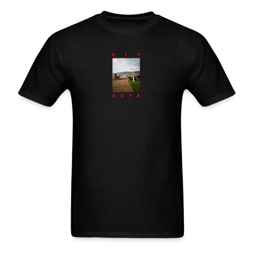 RIP AGFA RED - Men's T-Shirt