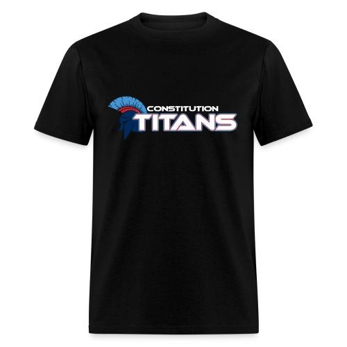 Constitution Titans WHT - Men's T-Shirt