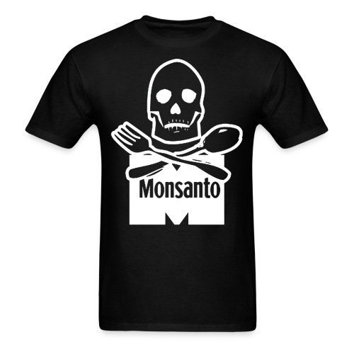 monsanto death - Men's T-Shirt