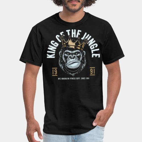 jungle king fitness gorilla - Men's T-Shirt