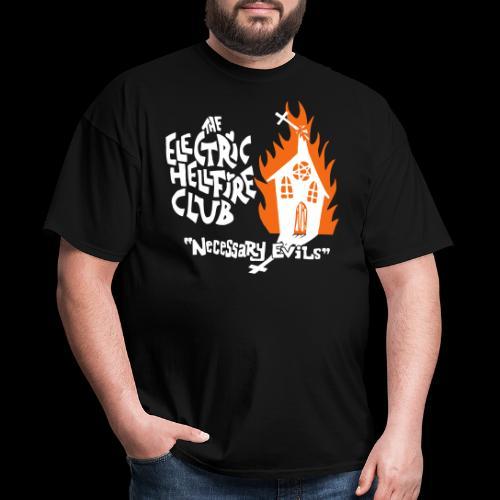 Necessary Evils front - Men's T-Shirt