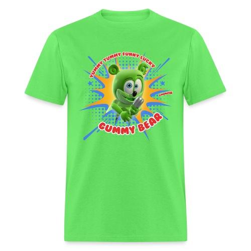 Funny Lucky Gummy Bear - Men's T-Shirt