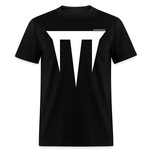 wulfgard inquisition white wgn png - Men's T-Shirt