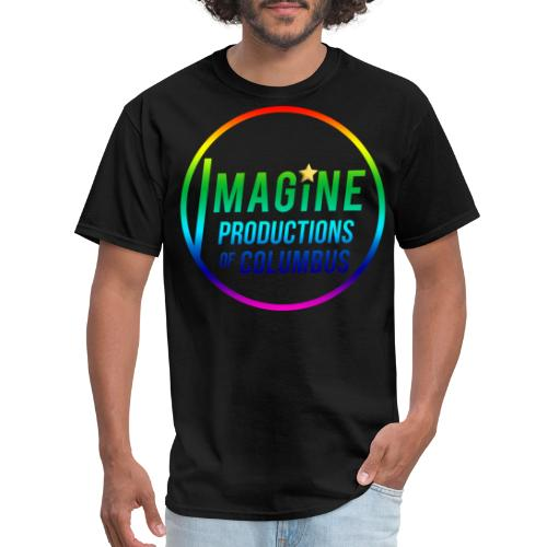 Imagine Rainbow - Men's T-Shirt