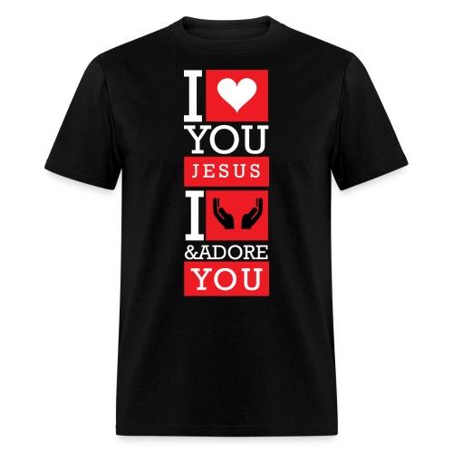 I Love You Jesus - Men's T-Shirt
