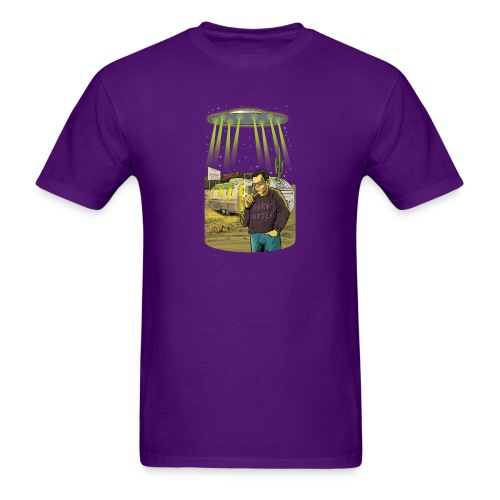 Art Bell Coast to Coast UFO Sighting - Men's T-Shirt