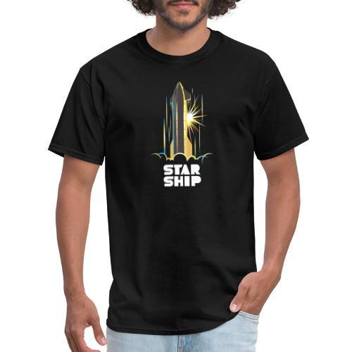 Star Ship Earth - Dark - Men's T-Shirt