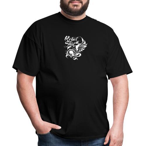 REBELSHOT LOGO - Men's T-Shirt