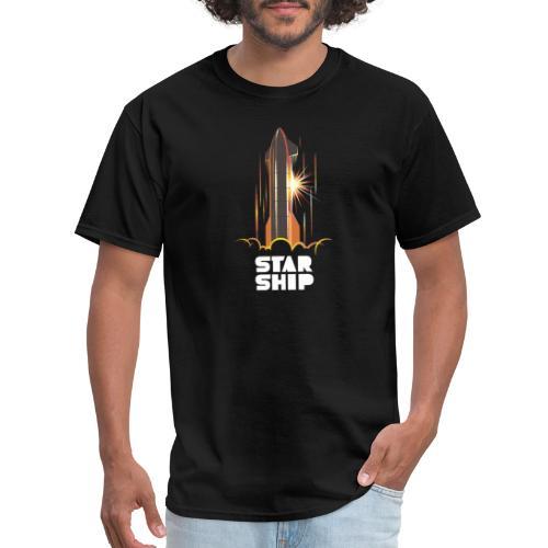 Star Ship Mars - Dark - Men's T-Shirt