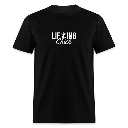 Lifting Fitness Chick - Men's T-Shirt
