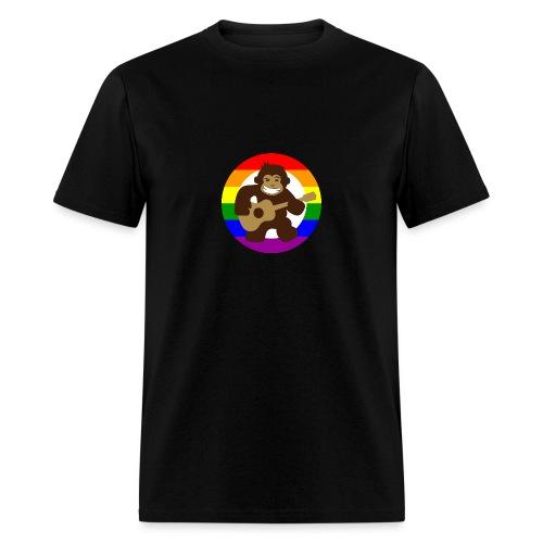 Rainbow Logo - Men's T-Shirt