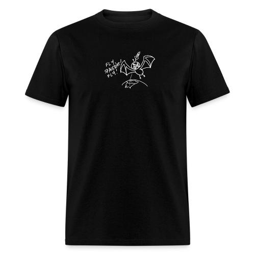 Fly Space Bat Fly Ladie's Tee (Dark) - Men's T-Shirt