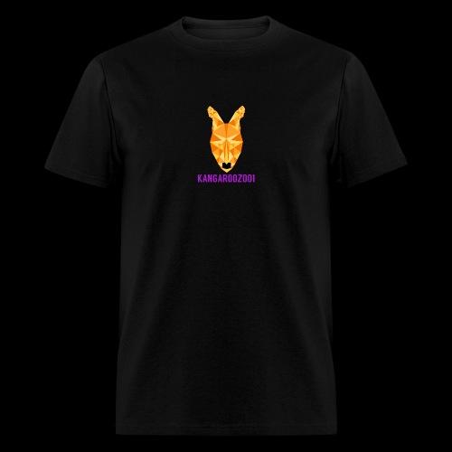 Kangaroozoo1 Logo & Name - Men's T-Shirt
