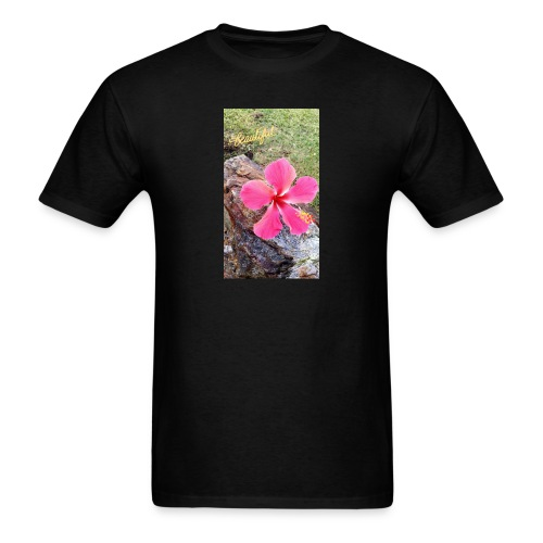 Pink Beach Flower - Men's T-Shirt