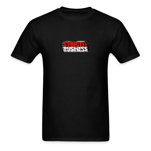 Strictly Business Productions Music Group Logo - Men's T-Shirt