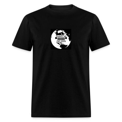 jeep logo white logo - Men's T-Shirt