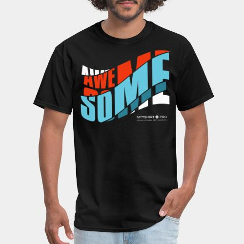 awesome t shirt design diagonal - Men's T-Shirt