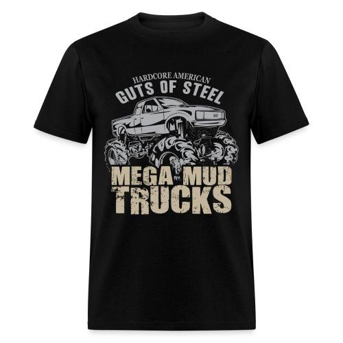 Mud Truck Hardcore - Men's T-Shirt