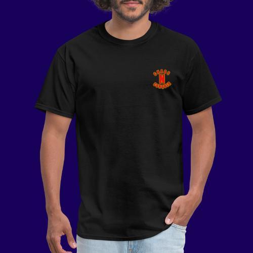 ChaosNConquer Minimalist Logo Print - Men's T-Shirt