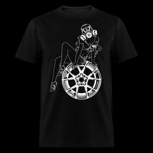 Gas Mask Girl - Men's T-Shirt