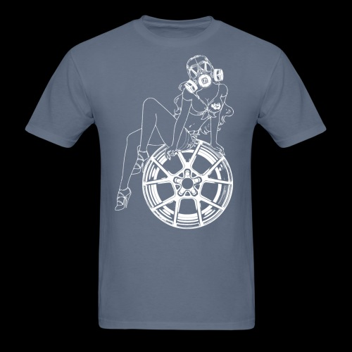 Gas Mask Girl - Men's T-Shirt
