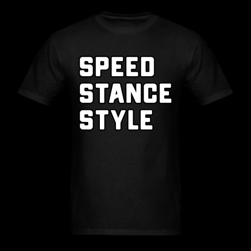Speed Stance Stlye BIG - Men's T-Shirt