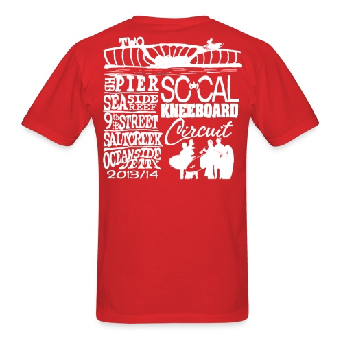 2013 SoCalKC white png - Men's T-Shirt