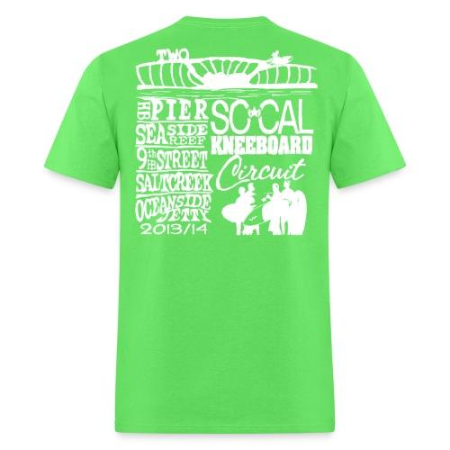 2013 SoCalKC white png - Men's T-Shirt