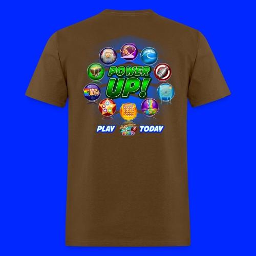 Vintage Cannonball Bingo Power-Up Tee - Men's T-Shirt