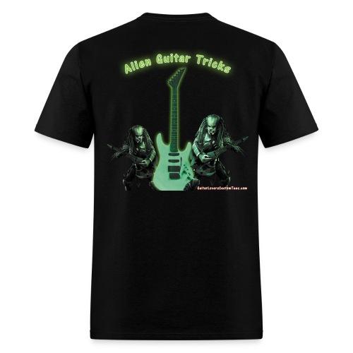 AlienGuitarTricks by GuitarLoversCustomTees png - Men's T-Shirt