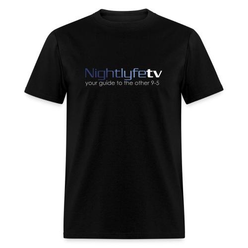 NTV Logo Front & Back - Men's T-Shirt