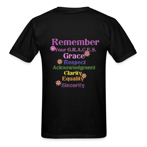 Remember Your GRACES - Men's T-Shirt