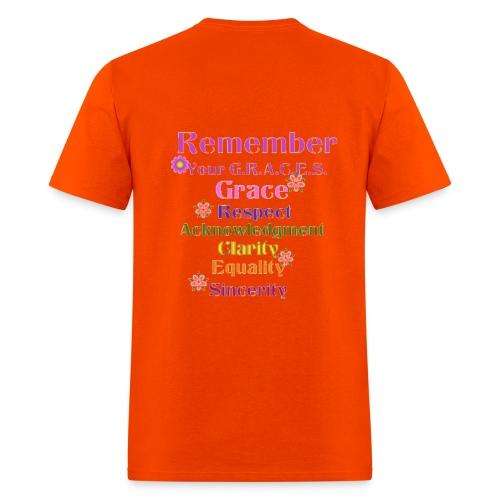 Remember Your GRACES - Men's T-Shirt