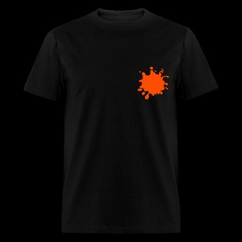 Orange Pocket Splatter Tee - Men's T-Shirt