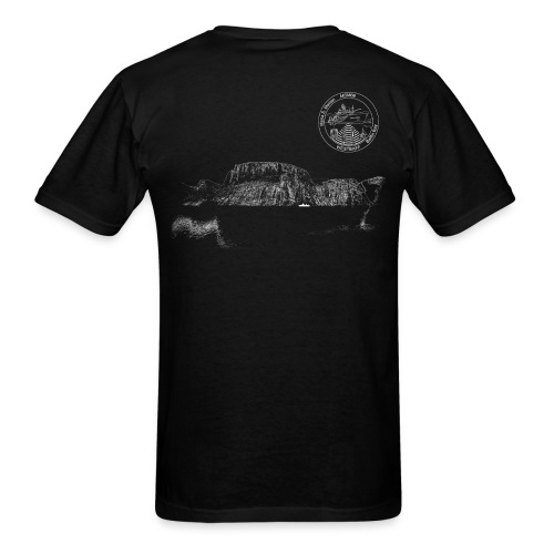 MSM66 fjord black - Men's T-Shirt