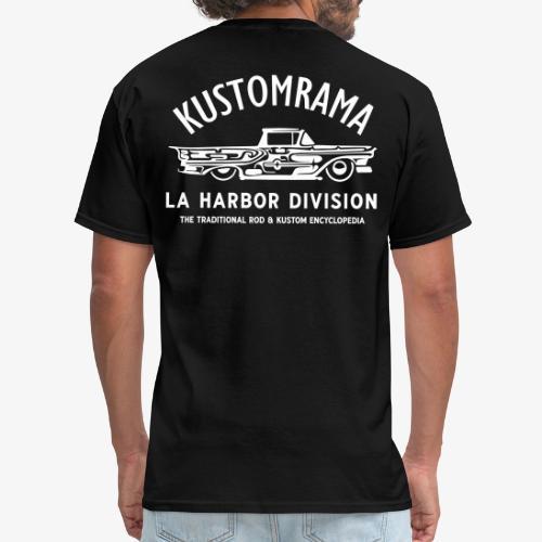 LA Harbor Division   Back - Men's T-Shirt
