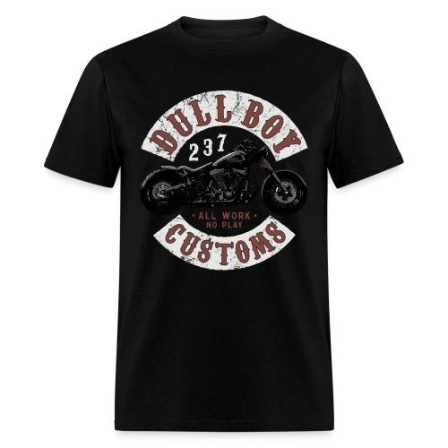 Dull Boy Customs patch two sides - Men's T-Shirt