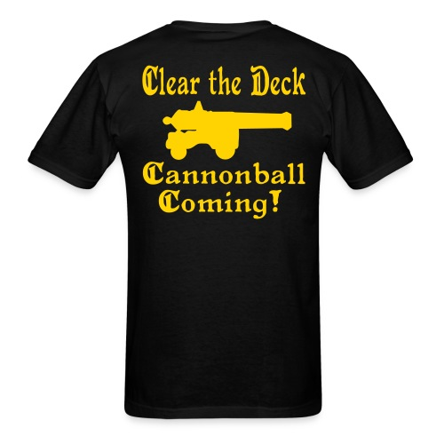 cb coming - Men's T-Shirt