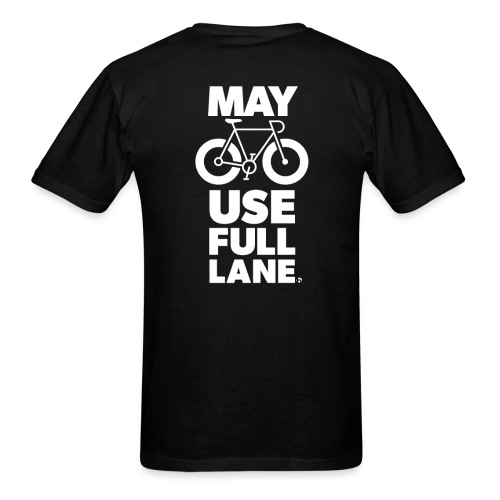 May use full lane large - Men's T-Shirt