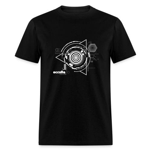OCCULTA NEW TRIANGLE DESIGN Black and white - Men's T-Shirt