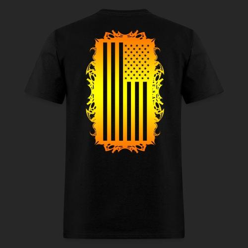 Wicked Dano US Flag - Men's T-Shirt