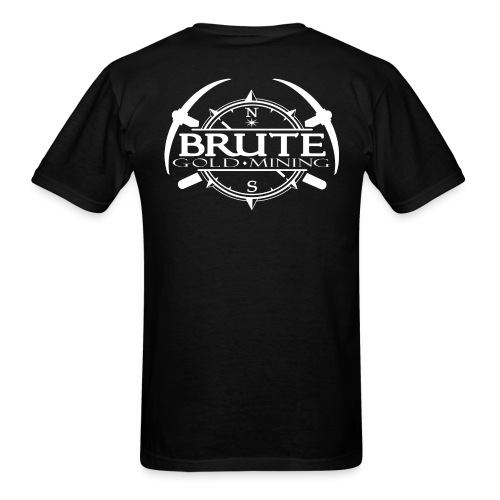 BRUTE-BACK-PATCH-2017-whi - Men's T-Shirt